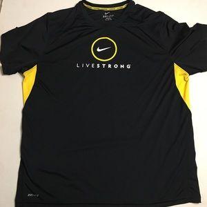 Nike Dri Fit LIVESTRONG Shirt